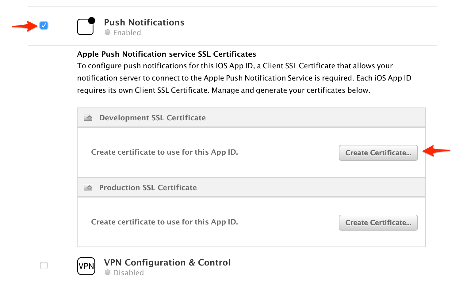 Apple Certificates Taplytics Docs