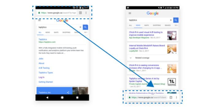 We're part of Google Chrome's Mobile App Rollout and you probably are too