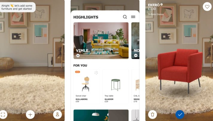 mobile retail apps - Ikea