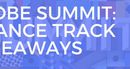 adobe summit finance takeaways